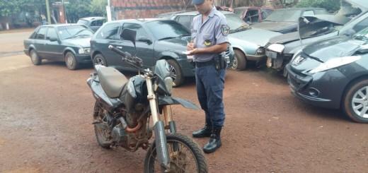 La Policía recuperó dos motos robadas en Garuhapé, una había sido comercializada en San Ignacio