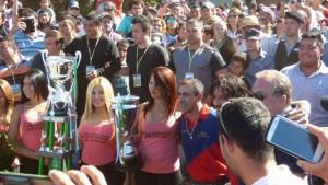 Multitudinaria participación en la copa Challenger, incluso más que en las carreras de Brasil
