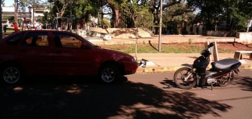 Madre e hijo hospitalizados tras un accidente vial en Posadas