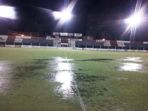 Guaraní  Sol de América se suspendió y se jugaría hoy a las 16, si el tiempo lo permite