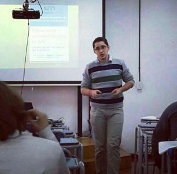 Licenciado en Sistemas, premiado en el Congreso Argentino de Ciencias de la Computación (CACIC) 2016