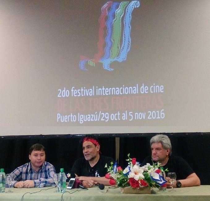 Festival de Cine en Iguazú: «El cine vino a quedarse y encontró su mejor pantalla», dijo Juan Palomino
