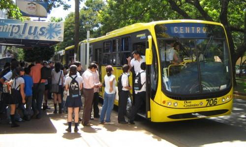 Servicio de transporte urbano funciona con normalidad en Posadas, Garupá y Candelaria