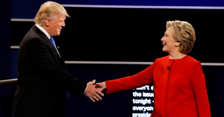 Clinton aumentó su ventaja sobre Trump tras el debate