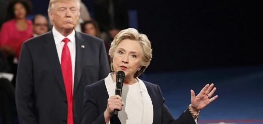 Según analistas, Trump le habló a su base en el debate, mientras Clinton intentó sumar indecisos