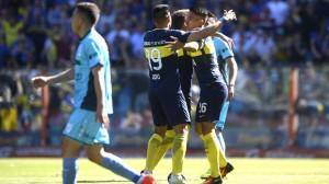 Boca-Temperley: Una inyección de confianza para los xeneixes, que golearon y esperan por Rosario Central