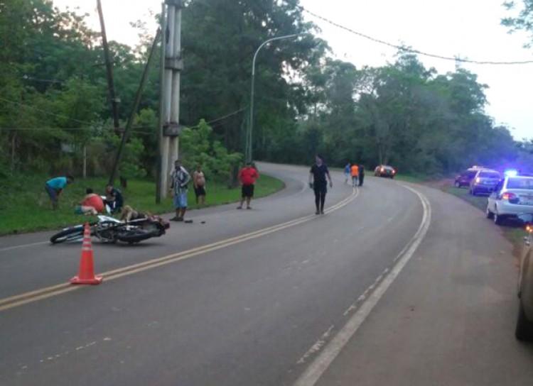 Motociclista colombiano falleció a causa de las heridas letales que sufrió en un choque