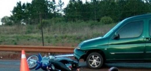 Otro fallecido en un choque: fue en la ruta 105, pasando La Eugenia