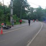 Un  motociclista ebrio colisionó con otro vehículo y hubo un lesionado