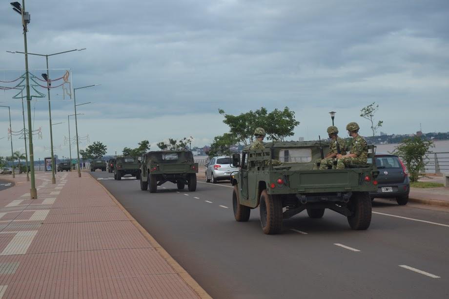 El Ejército se movilizará desde hoy y hasta el 20 por la ruta 14