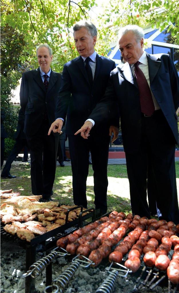 Macri y Temer acordaron seguir avanzando con Garabí y puentes sobre los ríos Uruguay y Pepirí Guazú