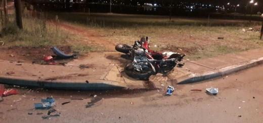 Motociclista falleció al ser embestido por un auto en Posadas