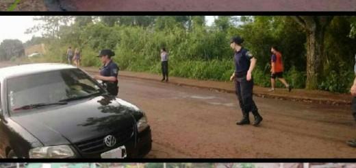 Alem: recuperaron una moto en Operativo de Alto Impacto, además hubo dos detenidos y secuestros