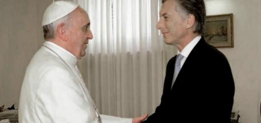 Macri se reunió con el Papa Francisco en el Vaticano