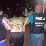 Atrapan a un dúo tras un raid delictivo en Posadas