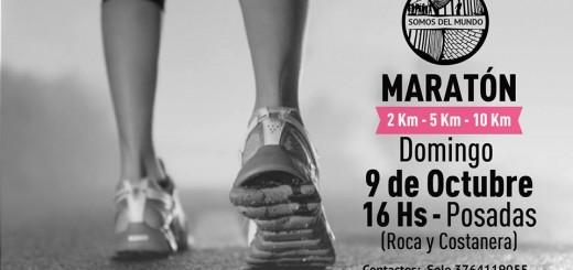 El domingo se realizará una maratón solidaria en la costanera de Posadas