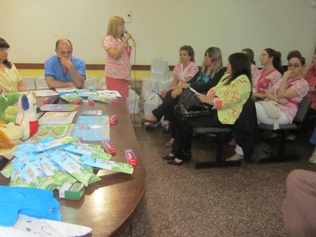 Docentes de Nivel Inicial recibieron kits de salud bucal