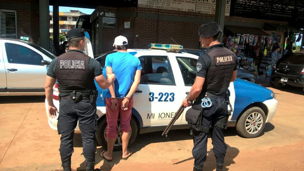 Apresaron en San Vicente al sospechoso buscado por el crimen de la travesti Evelyn
