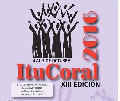 Se desarrolla en Ituzaingó desde hoy hasta el 9 de octubre el ItuCoral 2016