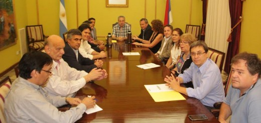 Passalacqua recibió a dirigentes de Cambiemos