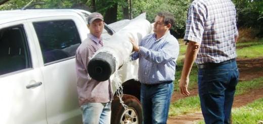 El IFAI entregó insumos a productores afectados por las tormentas