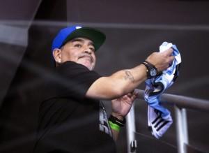 """Maradona le dedicó el título de la Davis a los que lo trataron de """"mufa"""""""