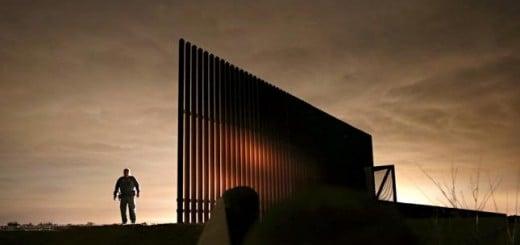 Un vistazo al muro fronterizo entre EEUU y México