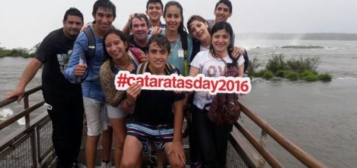 En Iguazú, Foz y Buenos Aires festejan el aniversario de Cataratas como Maravilla del Mundo y las redes se llenan de fotos con el #CataratasDay2016