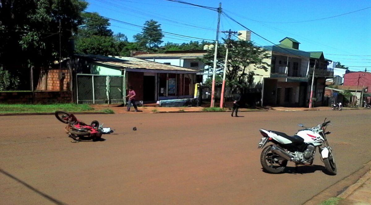 Choque de motos dejó un fallecido en Puerto Iguazú