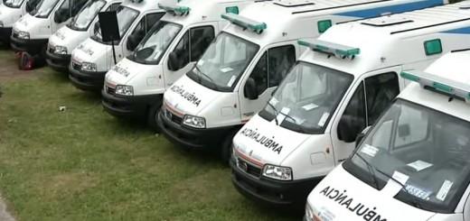 El Gobierno entregó 30 ambulancias a cinco provincias del norte, de las cuales seis son para Misiones