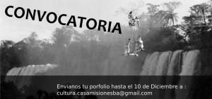 Abierta la convocatoria para artistas visuales de la provincia interesados en exponer sus trabajos en 2017 en la Casa de Misiones