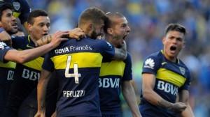 Boca venció por 4 a 3 al Sevilla en España