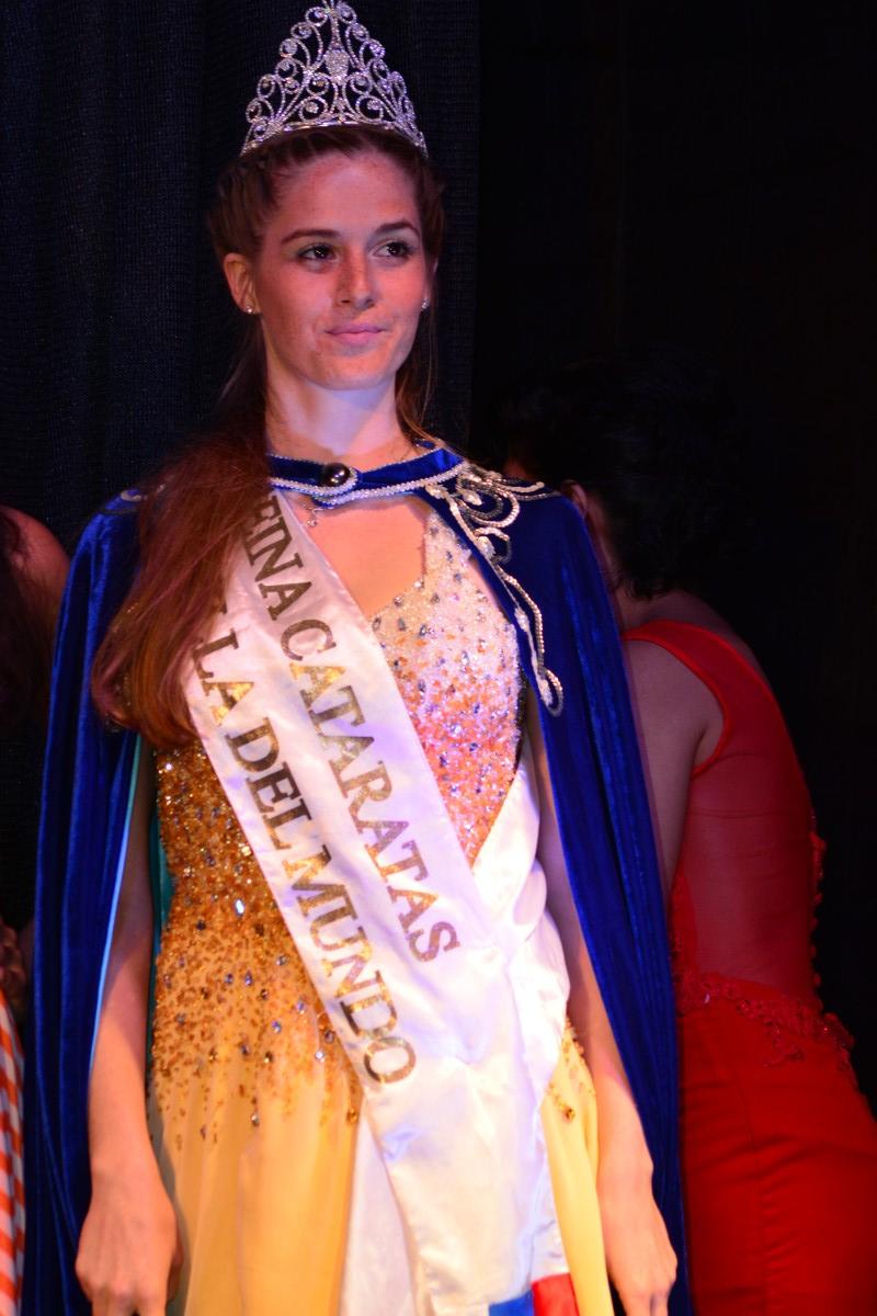 Cataratas tiene una Maravilla de reina: Gabriela Caballero