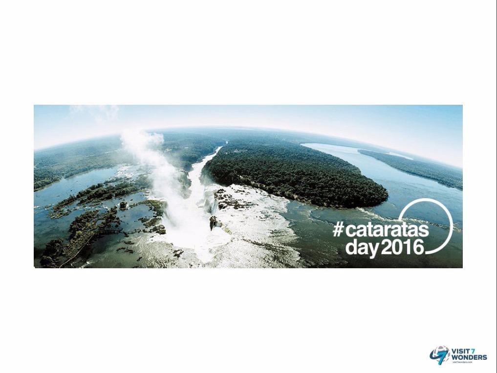 Subí a las redes tus fotos en Cataratas del Iguazú con el hashtag #CataratasDay2016 y hacé que el Mundo vea a una de sus 7 Maravillas Naturales