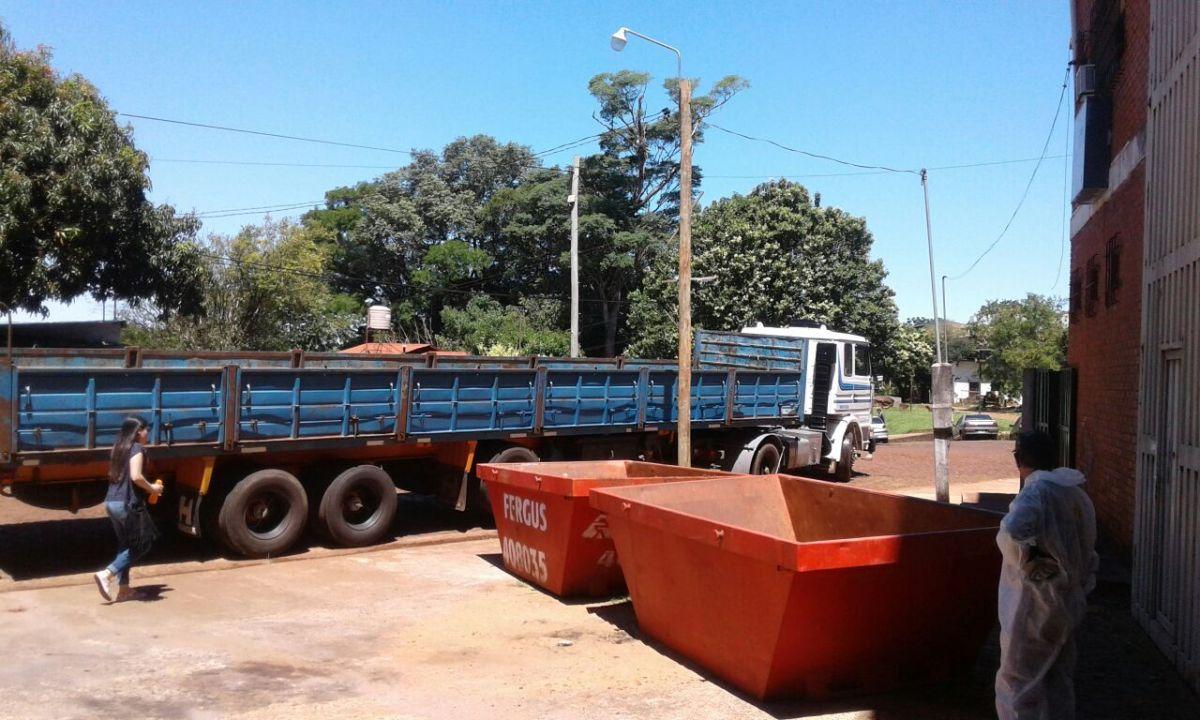 Campaña de recolección: se completaron dos camiones cargados de basura electrónica