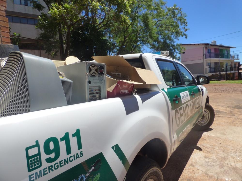 Oberá planifica políticas ambientales locales para atender las problemáticas de residuos electrónicos en su municipio