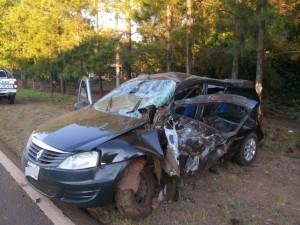 Automovilista despistó y terminó con lesiones en Gobernador Roca