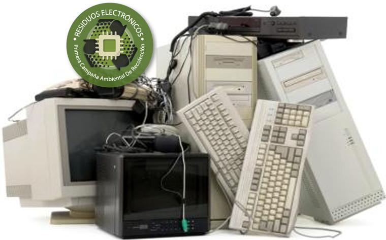 Recuerdan la importancia de deshacerse de los residuos electrónicos