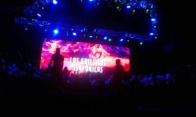 Así comenzó una nueva edición del Festival del Litoral con la actuación de los Grillitos Sinfónicos
