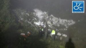 Confirman 76 muertos en Colombia por el accidente del avión del Chapecoense