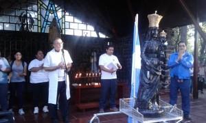 Peregrinos se concentraron en Fátima y parten al Centro de Espiritualidad Loreto