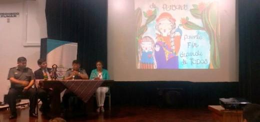 Personal de la División Trata de Personas participan del 1° Encuentro sobre Trata de Personas que se realiza en Jujuy