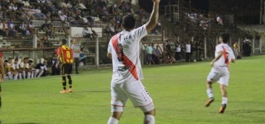 Vea el gol de Barinaga para la primera victoria de Guaraní como local