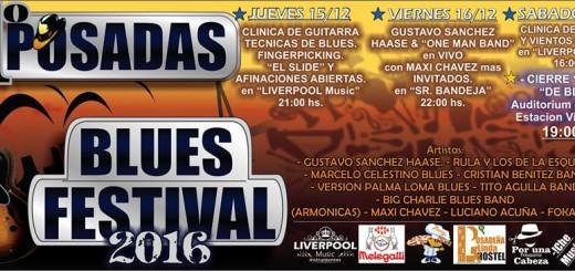 Esta semana Posadas tendrá su primer encuentro internacional de Blues