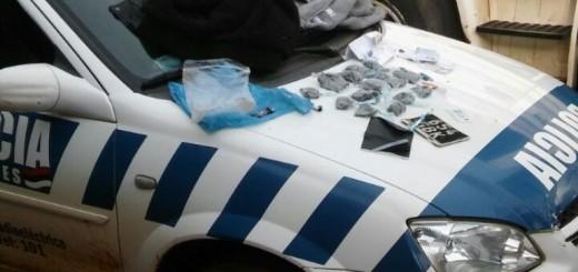 Atrapan a supuestos vendedores de droga merodeando una estación de servicios en Alem