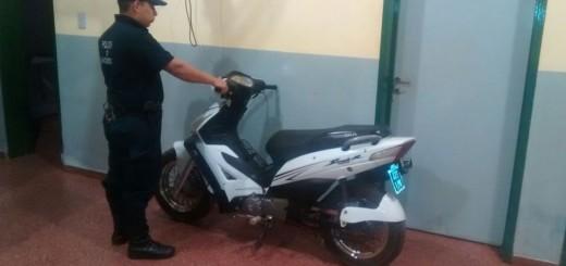 Recuperaron motos robadas en Posadas y hay dos detenidos: uno con frondoso prontuario.