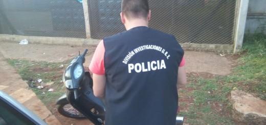 Ofrecía por Whatsapp una moto robada y lo atrapó la Policía
