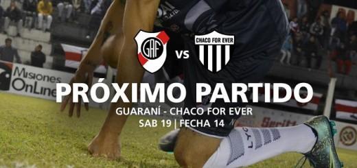 Guaraní vs Chaco For ever, una nueva edición del clásico de la región