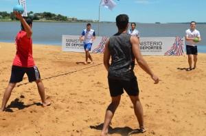 Comenzó la Concentración de Beach Handball