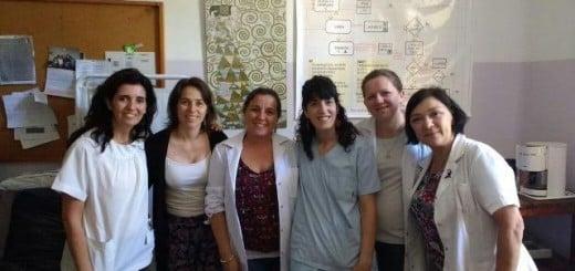 Profesionales de Salud Pública realizaron practicas en Hospital Álvarez de Buenos Aires